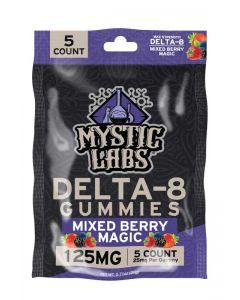 Mystic Labs Delta-8 Gummies 5ct